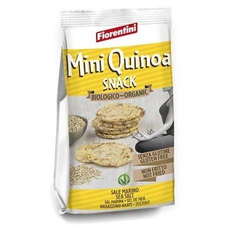 Bio Mini Quinoa Snack – Chipsuri bio cu quinoa fara gluten x 50g