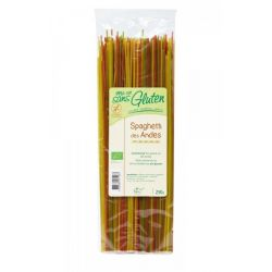 Spaghete Anzi 3 culori bio (orez, quinoa, amaranth) x 250g Ma Vie Sans Gluten