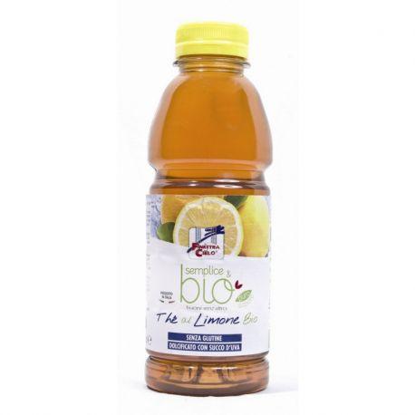 Ice Tea Ceai bio cu aroma de lamaie (indulcit cu suc de struguri, fara gluten) x 500ml La Finestra sul Cielo