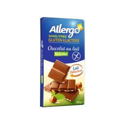 Ciocolata cu alune fara lactoza si gluten x 100g