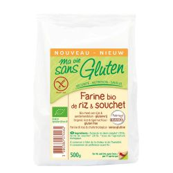 Faina de orez si alune tigrate fara gluten x 500g Ma vie sans gluten
