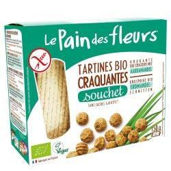 Le pain des fleurs Turte crocante cu alune tigrate x 150g