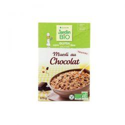 Muesli cu ciocolata bio (fara gluten) x 375g JardinBio