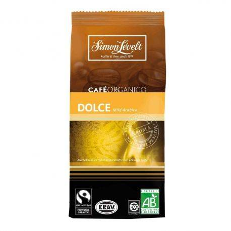 Cafea bio arabica Dolce x 250g Simon Levelt