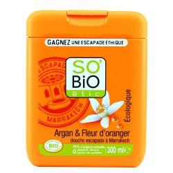 ECO Gel de dus argan si flori de portocal x 300ml SoBioEtic