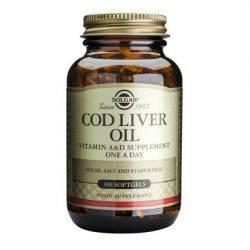Cod Liver Oil x 100cps moi Solgar