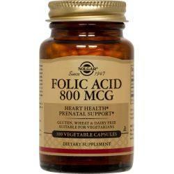 Folacin (Folic Acid) 800μg x 100tb. Solgar