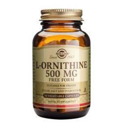 L-Ornithine 500mg x 50cps Solgar