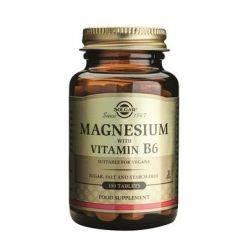 Magneziu cu vitamina B6 x 100 tablete Solgar