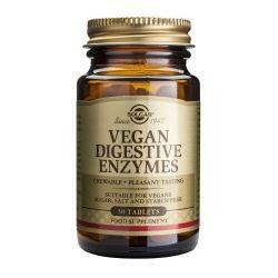 Enzime digestive vegetale x 50 tab. Solgar