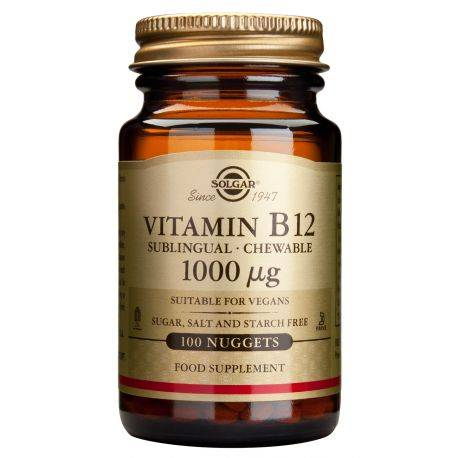 Vitamin B-12 x 100 tab. Solgar