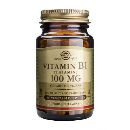 Vitamina B1 100mg x 100 capsule Solgar