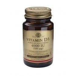Vitamin D3 4000IU x 60 caps. veg. Solgar