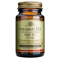Vitamin D3 600 IU x 60s veg.caps Solgar