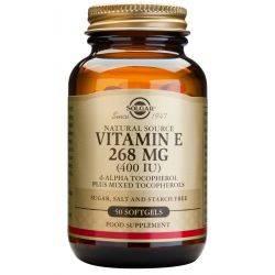 Vitamin E 400ui x 50 caps. Solgar