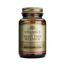 Vitamin E+ Selenium x 50 cap. veg. Solgar