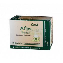 Ceai de Afin Frunze 25plic x 1g Hofigal