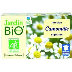 Ceai din plante: Musetel pentru digestie (20 plicuri) 28g JardinBio