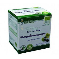 HOF002 Hofigal-ECO Ceai frunze Coacaz negru 25plic. x1g