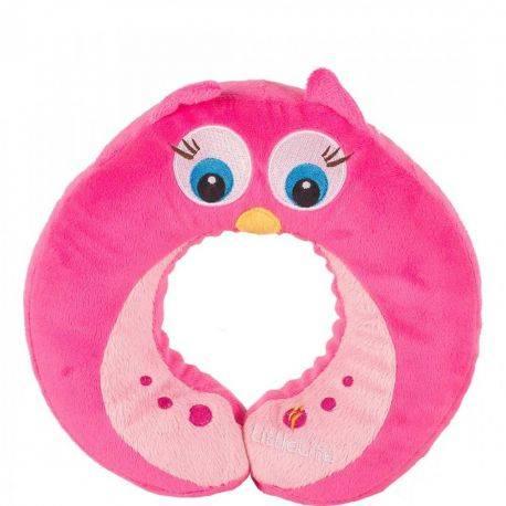 Perna pentru Gat pentru Copii Bufnita Roz Little Life