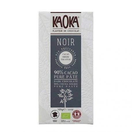 Ciocolata neagra 90% Ecuador x 100g Kaoka
