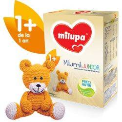 Milupa - Milumil Junior 1+ Lapte Sugari x 600g