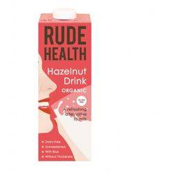 Lapte vegetal organic din alune x 1000ml Rude Health