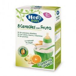 Hero Baby Natur Cereale cu fructe, fara lapte 6+, x 500g
