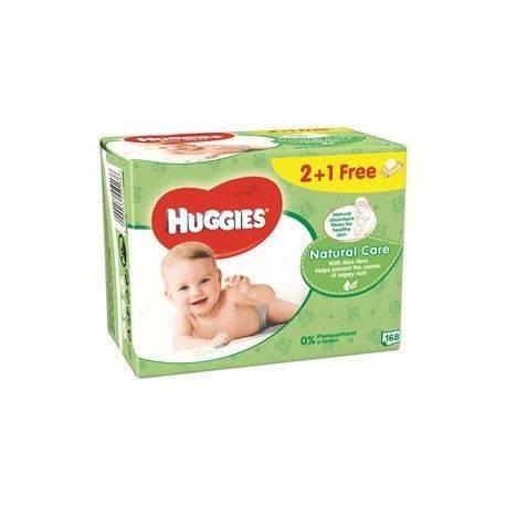 Huggies Natural Care Quatro