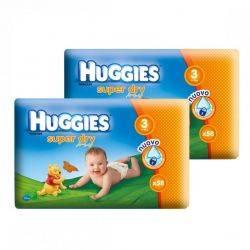 Huggies Super Dry Nr.3 (4-9Kg) x 116buc