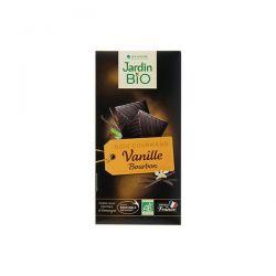 Ciocolata Eco neagra cu vanilie x 100g JardinBio