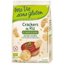 Crackers Eco din orez cu ulei de masline x 40g Ma vie sans gluten