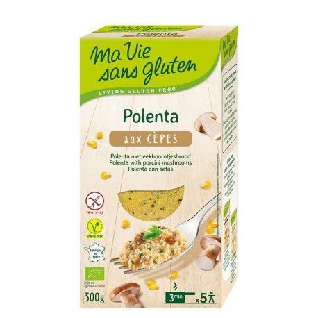 Polenta cu hribi fara gluten x 300g Ma vie sans gluten