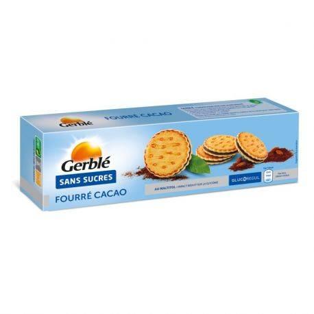 Glucoregul Ciocolata Biscuiti sandwish crocoant cu ciocolata, fara zahar x 185g