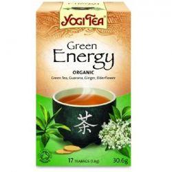 Ceai verde BIO pentru energie x 30.6g (17 plicuri x 1.8g ) YOGI TEA