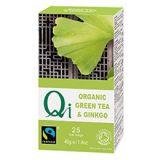 Ceai verde BIO cu ginkgo QI x 40g (25 plicuri x 1.6g )YOGI TEA