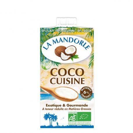 Smantana vegetala de cocos x 250ml La Mandorle