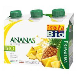 Bautura bio premium de ananas 3 x 200ml Isola Bio
