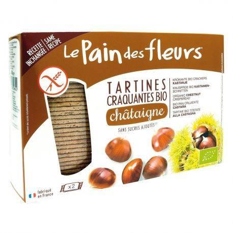 Le pain des fleurs Tartine crocante cu castane bio x 300g