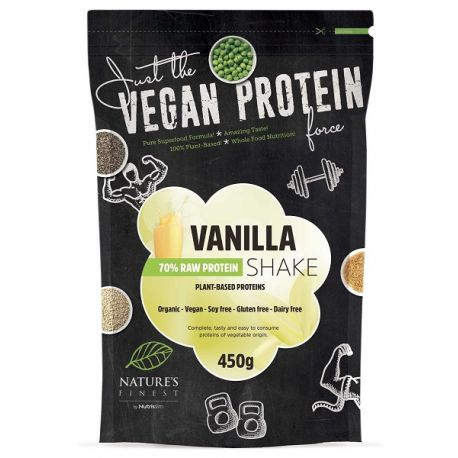 Shake Eco de vanile cu 70% proteine x 450g Nutrisslim