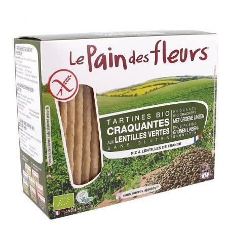 Le pain des fleurs Tartine crocante cu linte x 150g