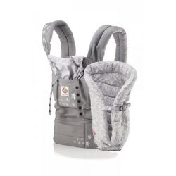 Marsupiu Original Galaxy Grey cu suport nou nascut inclus Ergobaby