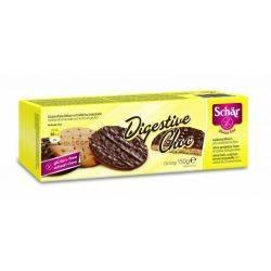 Biscuiti digestivi fara gluten cu glazura de ciocolata (3x50g) 150g Dr.Schar