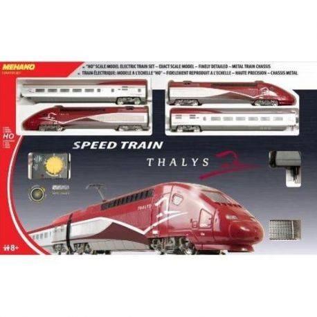 Trenulet Electric de Mare Viteza Thalys Mehano