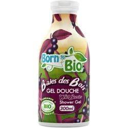 Gel de dus bio Fructe de Padure x 300ml Born to Bio