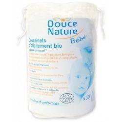 DouceNature Cotton Tampoane san alaptare din bumbac 100%bio