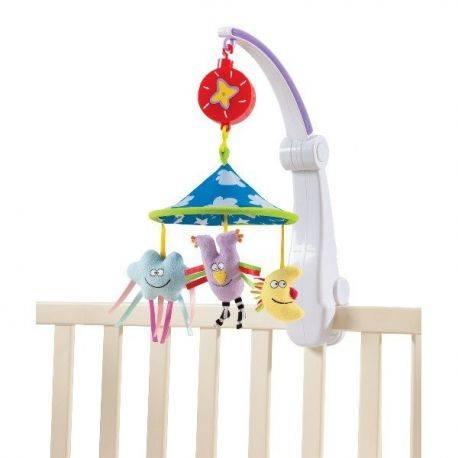 Carusel muzical pliabil - Calatorie placuta Taf Toys