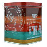 Sinas Cutie metalica patrata Have a tea x 250g