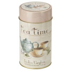 Sinas Cutie metalica rotunda Tea time x 75g