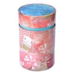 Sinas Cutie pentru ceai vintage cu capac interior (Rosie) x 150g